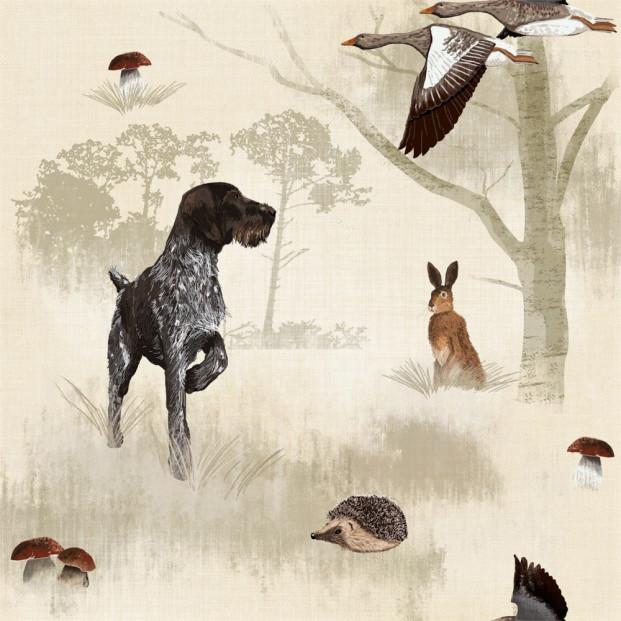 Den Ruhårede Hønsehund - Jagt