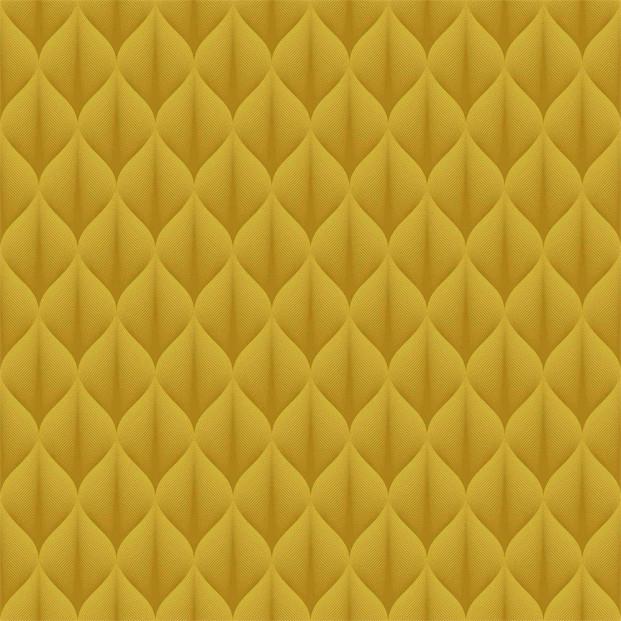 Bladgrafik Yellow Folded