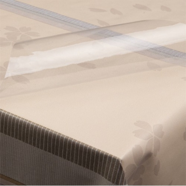 Klar plast 0,10 mm tyk, 140 cm bred