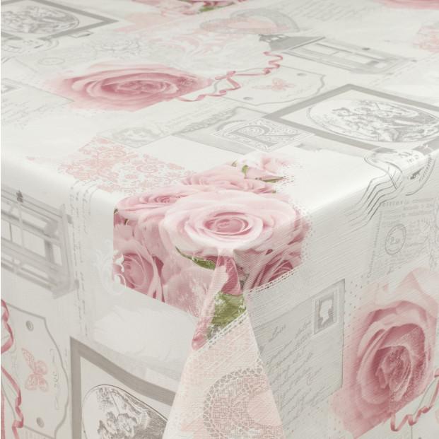 Pink Lady Rose, voksdug med roser