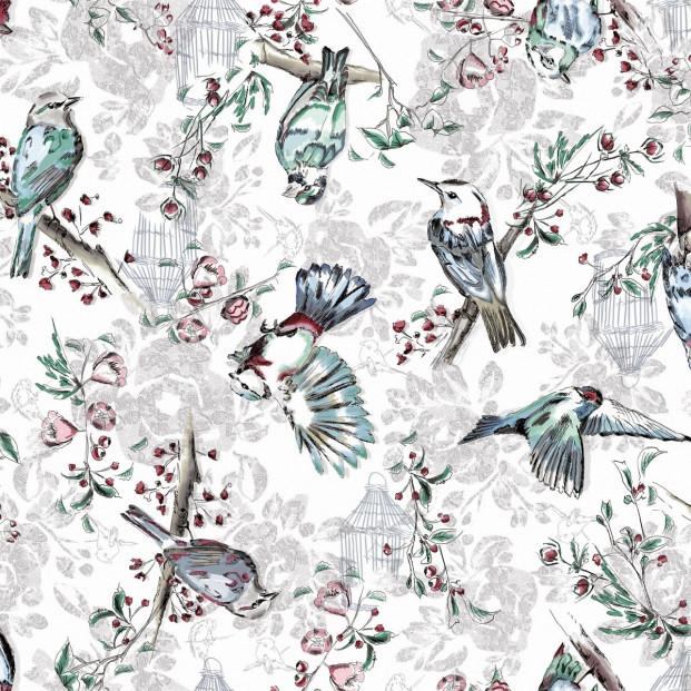 Bonnie, voksdug med frie fugle