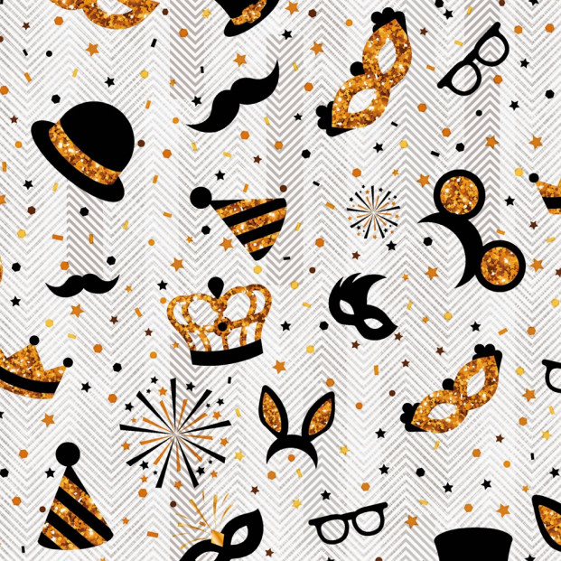 Voksdug Nytår - Happy New Year/ Maskerade