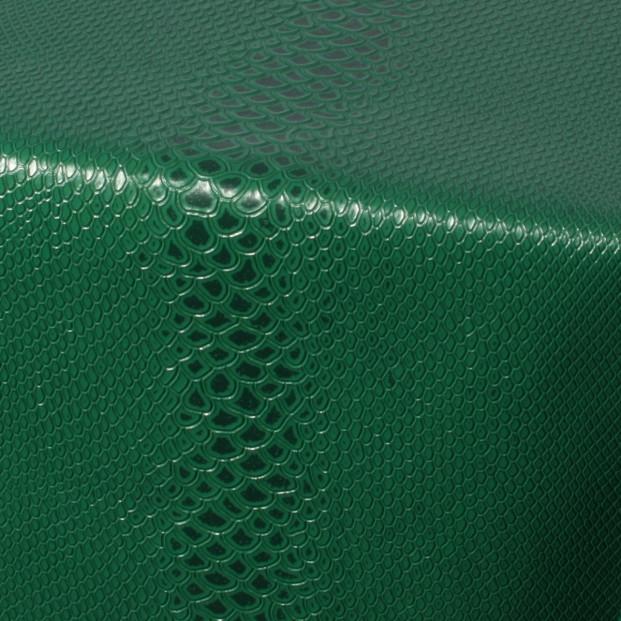 Python Green, voksdug slange skindlook i grøn