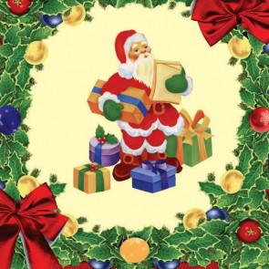 Julevoksdug, voksdug med gamle julemotiver