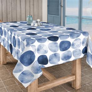 Arapoff Rio - Stonefree Retro, akryldug i hvid/blå/lyseblå