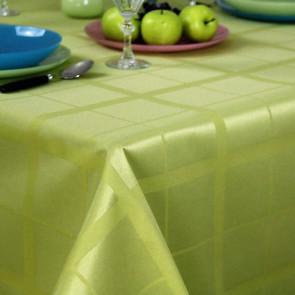 Lys tern grøn, akryldug med teflon,