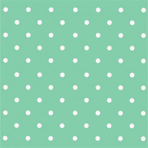 Dots Vintage Mint, voksdug med prikker