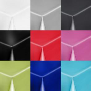 Uni Color - Ensfarvet halvblank voksdug, 140 cm bred