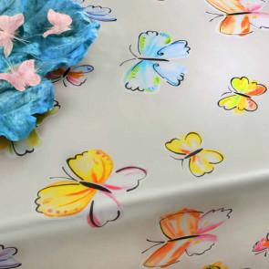 Farfalla, voksdug med sommerfugle, 140 cm