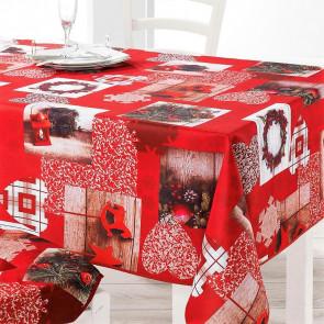 Festiva Julefest - Juledug med anti-plet, 150 x 240 cm