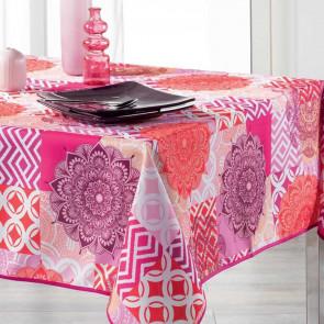 Flamenco Pink, dug med anti-plet - 150 x 240 cm