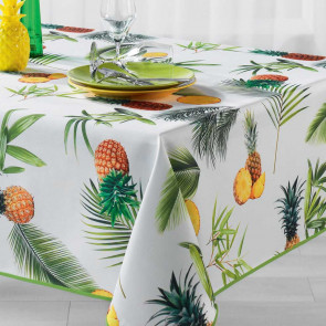 Fresh Ananas, dug med anti-plet, 150 x 240 cm