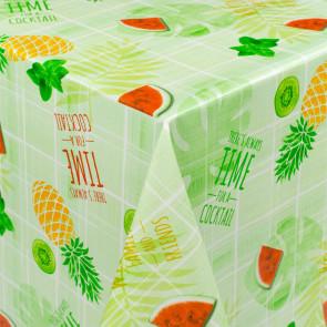 Frugt-Party - Rund voksdug med elastik