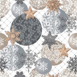 Julevoksdug - Blondedrømme i lyse farver