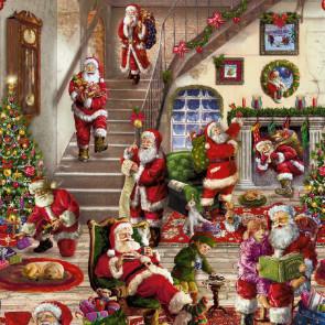 Julevoksdug - Gylden jul