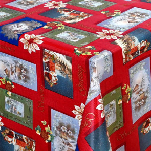 Julevoksdug - På Skøjter i Julen