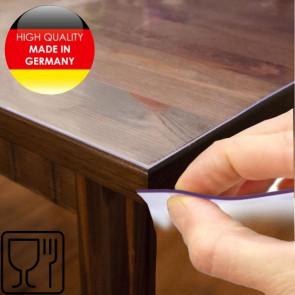 Klar plast 1,0 mm / 100 cm -  gennemsigtig café folie transparent voksdug