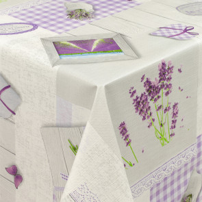 Lavendel Liv - Rund voksdug med elastik
