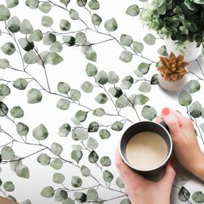 Maure Verde - Voksdug med grønlige blade