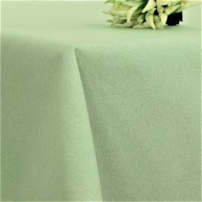 Lempicka, akryldug med hvide snerler, 160 cm bred