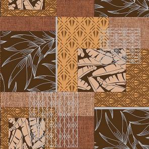 Mønstermix - Voksdug i naturlige brune og varme farver