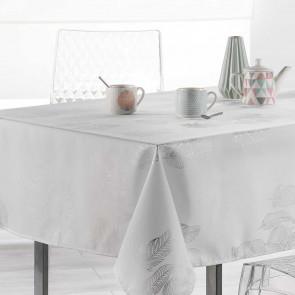 Plumia White, dug med anti-plet, 150 x 300 cm