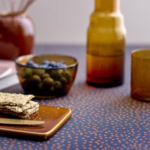 Södahl Balance Indigo, akrylatbehandlat textilduk, halkfri