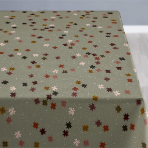 Södahl Starry Night Khaki, akrylatbehandlat textilduk, halkfri
