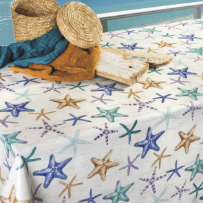 Starfish - Voksdug med flotte søstjerner