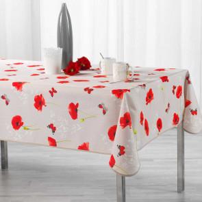 Sweet Poppy, dug med anti-plet, 150 x 240 cm