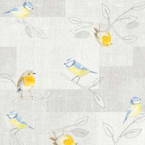 Cute Birds - Voksdug med søde fugle