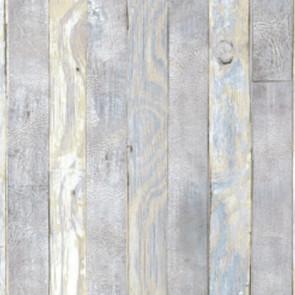 Scrap Wood, voksdug med flot struktur og trælook, 140 cm bred