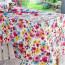 Pensees polyester dug 150 x 250 cm
